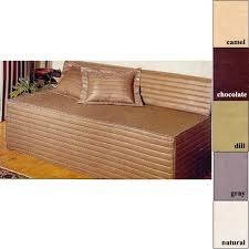nice fitted daybed covers on paramount 5 piece twin daybed set in