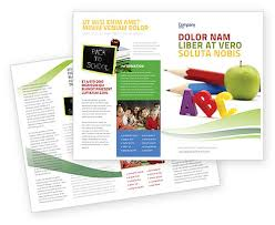 start education brochure template design and layout download now