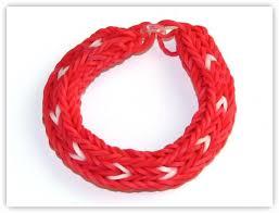 double cross bracelet images How to make the double cross long heart stripe bracelet rainbow jpg