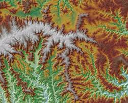 minnesota topographic map elevation data for minnesota