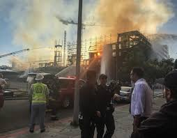North Bay Fire Control District by Oakland Firefighters Control Yet Another Huge Construction Blaze