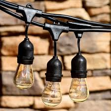 Outdoor Hanging String Lights How To Hang Outdoor Patio String Lights Awesome Festive