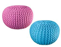 pattern for knitted pouf ottoman gallery craft pattern ideas