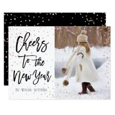 modern new years cards modern new year cards merry christmas and happy new year 2018