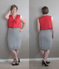 sweater skirt easy cable knit pencil skirt made from a sweater it s always