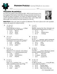 puzzle systems with elimination nelson mandela worksheet