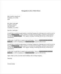resignation letters in pdf simple resignation letter format