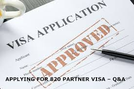 How Long Should A Resume Be Australia How To Apply For Defacto Partner Visa 820 To Australia