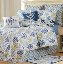 shabby chic blue by c u0026f quilts beddingsuperstore com