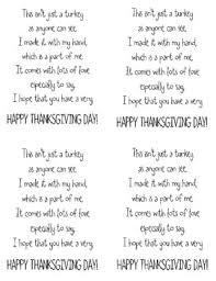 freebie turkey handprint poem by learning tpt