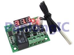 Cool New Electronics Best Quality New Dc12v Digital Cool Heat Temp Thermostat