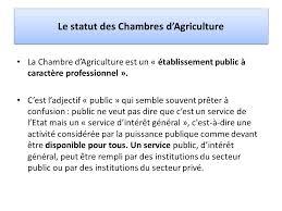statut chambre d agriculture atelier reca ppaao niger ppt télécharger