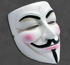V For Vendetta Mask V For Vendetta Guy Fawkes Anonymous Mask