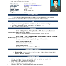 resume format for electrical engineering freshers pdf download imposing resume models engineering in word format latest formats