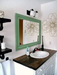 small bathroom countertop ideas your countertops diy salvaged wood counter cheap and so