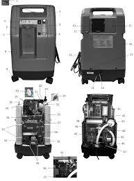compact devilbis oxygen concentrator 5lpm