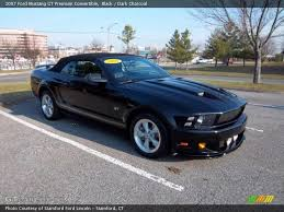 2005 Ford Mustang Gt Black 2001 Ford Mustang Gt Convertible Black I Would Change The Rems To