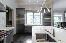 Kitchen With Gray Cabinets Modern Gray Kitchen Modern Kitchen Pricey Pads