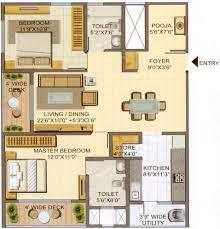 1215 sq ft 2 bhk floor plan image lodha group casa paradiso