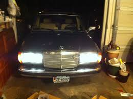 mercedes headlights fleet report 1983 mercedes benz 300dt u2013 let there be bright