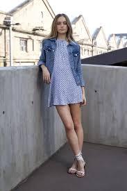 street style photos fresh ways to wear a denim jacket summer