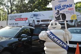 porsche petron michelin porsche unite for tire safety campaign george true views