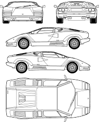 lamborghini drawing car lamborghini countach 5000s the photo thumbnail image of