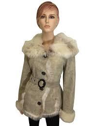 winter biker jacket fashion ladies womens toscana shearling sheepskin lambskin suede