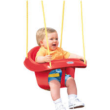 Swinging Baby Chairs Little Tikes High Back Toddler Swing Walmart Com