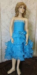 prom dresses for 14 year olds blue strapless organza prom dress