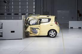 very small cars fail new iihs small overlap frontal crash test