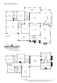 5 bedroom 2 story house plans awesome 2 story 5 bedroom house floor plan homeblend