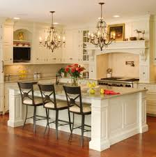 Island Ideas For Kitchen Kitchen Attractive White Wooden Floor Unusual Details Of Country