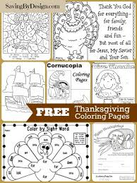 10 free thanksgiving coloring pages saving design