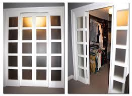 Pocket Closet Door Milette Panel Doors Create Faux Pocket Door Idea To Replace