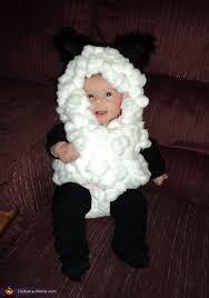 sheep costume snuggly sheep diy baby costume