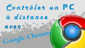 chrome bureau à distance contrôler pc à distance avec chrome tuto fr