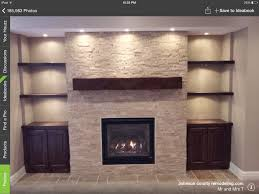25 best stone tv wall images on pinterest basement ideas