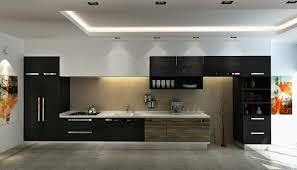 cuisine sol gris cuisine et bois en 42 idées de design d intérieur