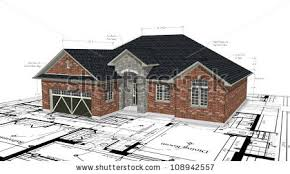 brick homes plans red brick house plans stock illustration 108942557 shutterstock