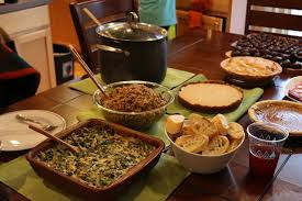 have a good thanksgiving theevergreenvegan food