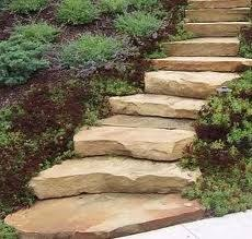 Steep Hill Backyard Ideas Beautiful Stone Steps From The Garden To The Table Recipes For