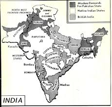 Show Me A Map Of India by Maps1947