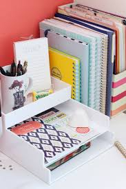 Organized Desks Enchanting Work Desk Organization Ideas 25 Best Ideas About