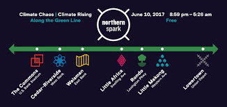 green line will be the fuse this summer for all night arts fest