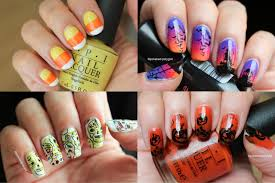 nail art 10 nail art ideas for halloween from beginner to