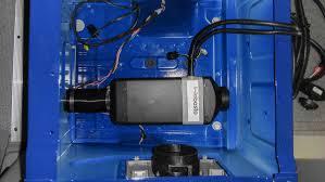 mercedes benz sprinter rear cargo hvac for heating cooling