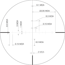 mtr to ft march 8 80x56mm tactical knobs mtr ft reticle sku mar1072 march 8