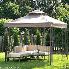Gazebo With Awning Patio Set Gazebo Lowes Patio Furniture Gazebos Patio Furniture