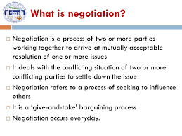 Seeking Negotiation Negotiation Skills Tulasi Sharan Sigdel Dy Director Of Studies